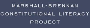 Marshall Brennan Constitutional Literacy Project logo