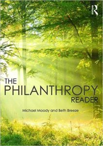 Book Cover - The Philanthropy Reader by Michael Moody and Beth Breeze