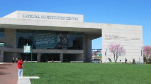 National Constitution Center from Arch Street